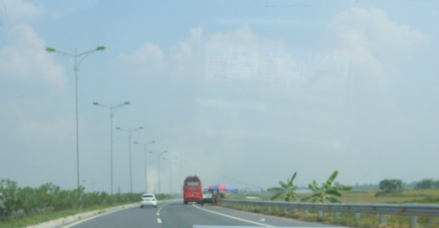 New road to Nam Dinh