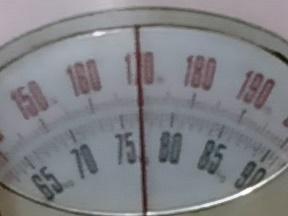 4月4日朝の体重-77.0kg
