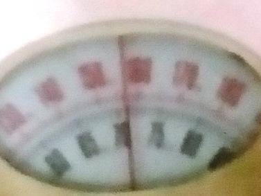 8月2日夕方の体重-71.0kg