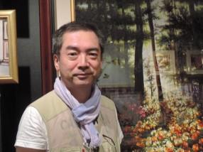ホーチミン市での北川宣浩氏