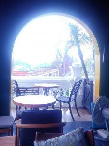 セレインカフェから見えるロンビエン橋