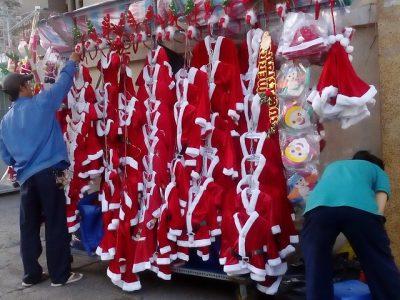 サンタクロースの季節